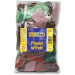 search for chenille kraft pound of felt remnants - excellent customer service team - sku: ckc3902