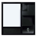 buying bi-silque dry-erase station combo board - top notch customer support - sku: bvc9d016045