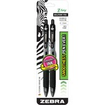 huge selection of zebra z-grip retractable ballpoint pens - wide selection - sku: zeb22212