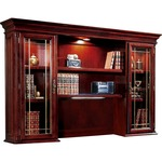buying dmi office furn. keswick leaded glass door hutch - great deals - sku: dmi799064