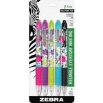 purchase zebra z-grip daisies retractable ballpoint pens - super fast delivery - sku: zeb22605