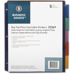 find business source pocket index dividers - us-based customer care - sku: bsn32369