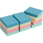 business source premium pastel adhesive notes - low pricing - sku: bsn16500