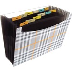reduced prices on c-line 13-pocket plaid expanding files - quick  free delivery - sku: cli48212