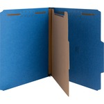 huge selection of nature saver 1-divider colored classification folders - broad selection - sku: natsp17202