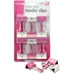 purchase officemate breast cancer awareness binder clips - fast delivery - sku: oic08905