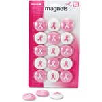 get the lowest prices on officemate breast cancer awareness magnets - excellent customer support staff - sku: oic08912