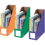shop for fellowes assorted color magazine file holders - us-based customer care - sku: fel3381801