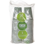 shopping online for eco-products renewable resource hot drink cups  - reduced prices - sku: ecobhc12wapk