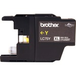 buy brother lc75bk c m y ink cartridges - outstanding customer service team - sku: brtlc75y