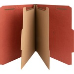 nature saver exp. letter size classification folders - sku: nat01051 - wide-ranging selection