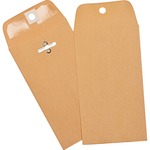 large supply of business source open-end heavy-duty clasp envelopes - save money - sku: bsn36669