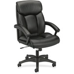 lowered prices on basyx executive high-back pneumatic leather chair - qualifies for free shipping - sku: bsxvl151sb11