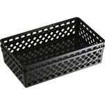 officemate plastic supply basket - sku: oic26202 - extensive selection