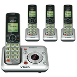 wide assortment of vtech 4 handset cordless telephone  - delivery is free   fast - sku: vtecs64294