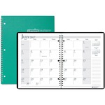 shopping online for doolittle wirebound leatherette monthly planners  - quick shipping - sku: hod26309