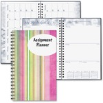 get doolittle stripes design weekly assignment planner - extensive selection - sku: hod274rtg60