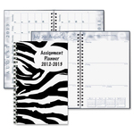 lower prices on doolittle zebra design weekly assignment planner - broad selection - sku: hod274rtg65