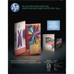 hp glossy tri-fold brochure paper - sku: hewq5443a - shop and save