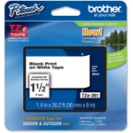 shopping online for brother tz 1-1 2  laminated tape cartridges  - new  lower pricing - sku: brttze261