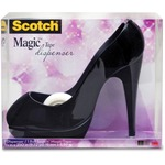 need some 3m scotch magic black stiletto tape dispenser  - quick shipping - sku: mmmc30shoeb