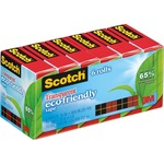 large supply of 3m scotch eco-friendly transparent tape  - shop and save - sku: mmm6126p