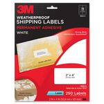 large variety of 3m weatherproof shipping labels - top notch customer service staff - sku: mmm3800s