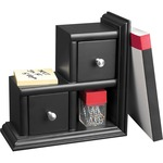 pick up victor midnight black collection reversible bookends - large selection - sku: vct89015
