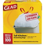 clorox glad tall kitchen drawstring trash bags - sku: cox78374 - spend less