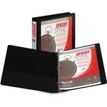 samsill black speedy spine view binders - reduced prices - sku: sam18130c