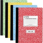 tops wide ruled composition books - sku: top63794 - fast delivery