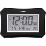 order lorell lcd wall alarm clock - wide selection - sku: llr60998