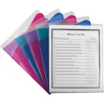 c-line assorted color project folders w dividers - excellent pricing - sku: cli62110