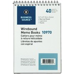 shopping online for business source wirebound memo books - professional customer service - sku: bsn10970