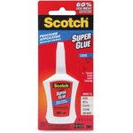 3m scotch super glue liquid w precision applicator - toll-free customer support - sku: mmmad124
