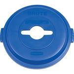 rubbermaid brute heavy-duty recycling container lid - toll-free customer care staff - sku: rcp1788380
