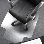 find floortex polycarbonate wide lip med pile chairmats - free   quick delivery - sku: flr1115223lr
