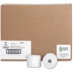 business source 1-ply 2-1 4 x165  adding machine rolls - sku: bsn31822 - us-based customer service