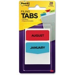 large variety of 3m post-it printed monthly filing tabs - outstanding customer care - sku: mmm686month