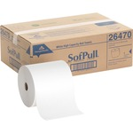 reduced prices on georgia pacific hardwound white roll paper towels - ships for free - sku: gep26470