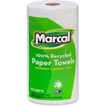 marcal small steps jumbo 2-ply recyclable paper towels - sku: mrc6210 - order online