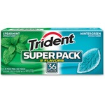 shopping online for cadbury trident wintergreen spearmint super pack - us-based customer care team - sku: cdb61055