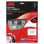 looking for 3m durable permanent adhesive i.d. labels  - rapid shipping - sku: mmm3800d