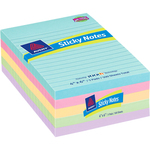 order avery custom pastel removable adhesive note pads - fast delivery - sku: ave22556