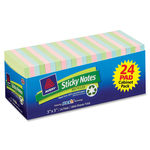 find avery recyclable sticky notes adhesive pads - fast delivery - sku: ave22666