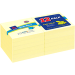 shopping online for avery yellow fanfold sticky notes  - excellent pricing - sku: ave22724