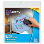 avery peel   stick dry-erase decals - top rated customer service - sku: ave24312