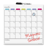 large supply of board dudes magnetic dry-erase cubicle calendar - excellent customer support staff - sku: bdu13759va4