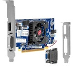 HP Radeon HD 7450 Graphic Card - 1 GB DDR3 SDRAM - PCI Express 2.0 x16 - Low-profile B1R44AA