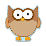 purchase carson assorted owl cut-outs bulletin board set - rapid shipping - sku: cdp120092